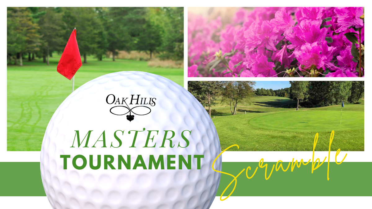 Join us on Masters Sunday!